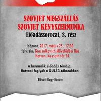 Hatvani foglyok a GULAG-táborokban - előadás