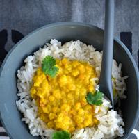 Vörös lencse curry, csodálatosan finom, vegán fogás 20 perc alatt!