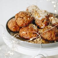Ajándékok házilag 18. Melomakarona, görög hagyományos, fűszeres sütemény olíva olajjal