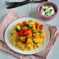 Zöldséges kuszkusz - szuperegészséges, vegetáriánus fogás, ami mindenkit boldoggá tesz!