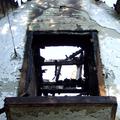 A Szajnapart vendéglő a tűz után