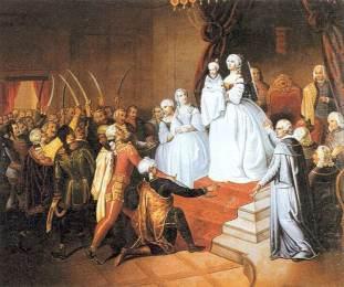 Carosse du mariage Imperial de François Joseph et Élisabeth de Bavière Vitam