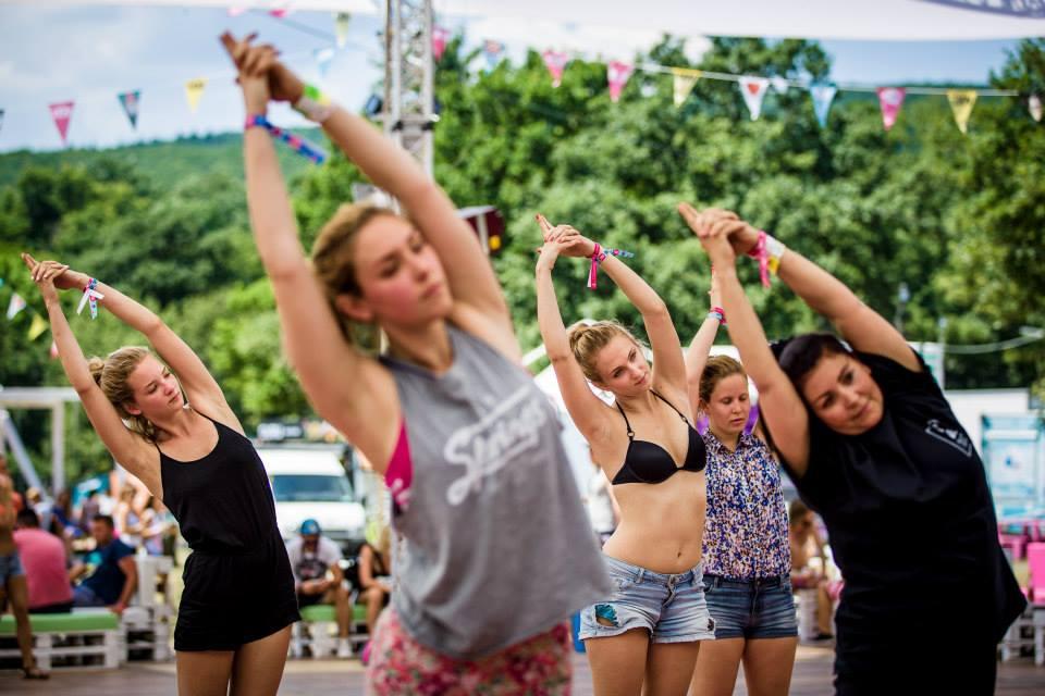 Magyar lányok (Fotó: facebook.com/VOLTFesztival)