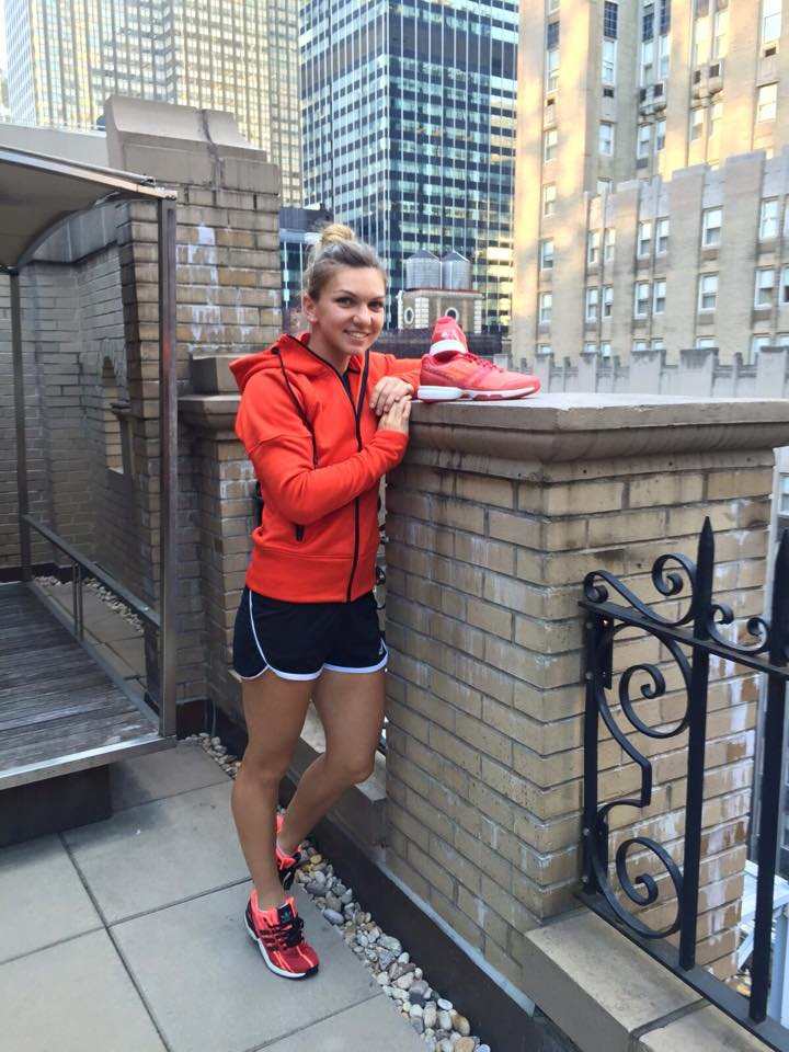 Simona Halep, teniszező (Fotó: facebook.com/simonahalep)