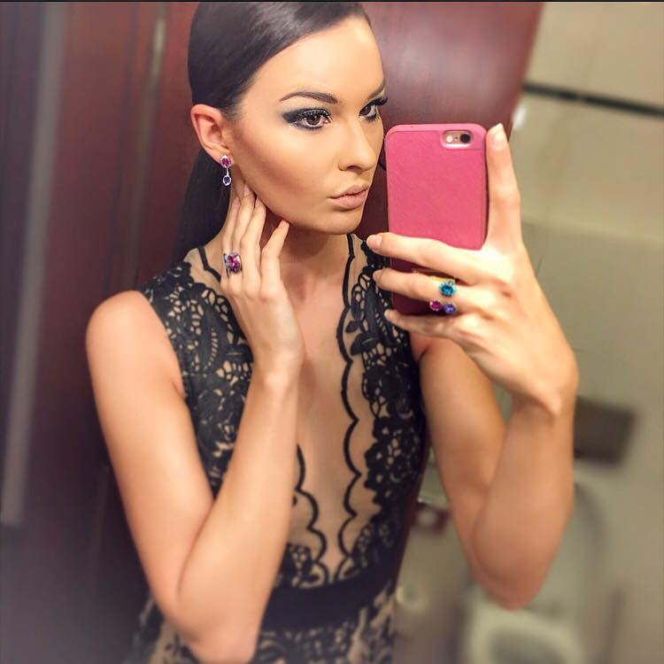 Nikol Švantnerová, Miss Czech Republic 2015 (Fotó: facebook.com)