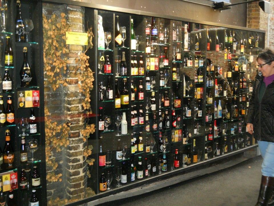 A belga sör is nagyon finom, némelyik kocsmában több száz fajta kóstolható. - (Fotó: Botos Zsuzsanna)