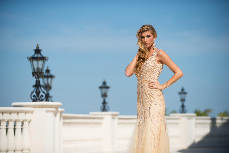 Camille Cerf, Miss France 2015 (Fotó: parismatch.com)