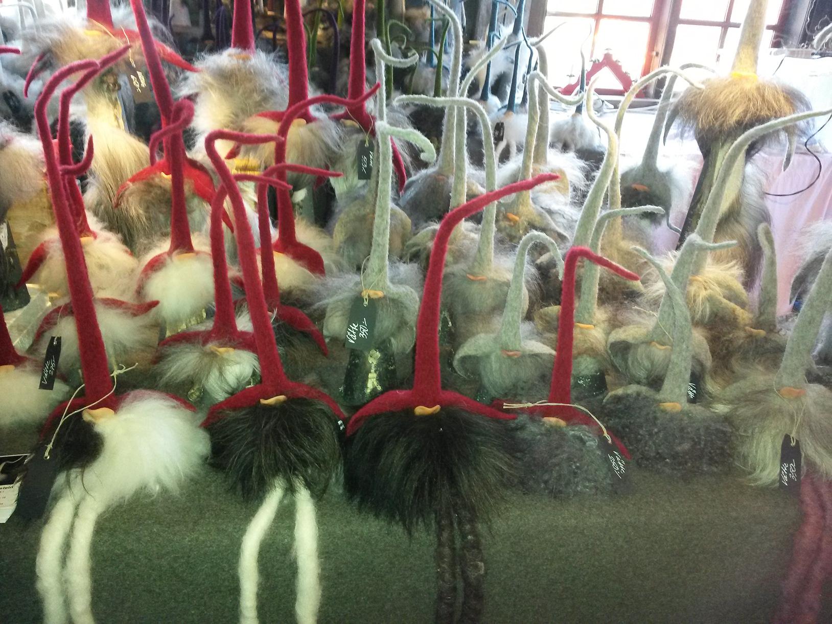 Karácsonyi vásár a svédországi Huseby Brukban (Fotó: Szabó Vivien)