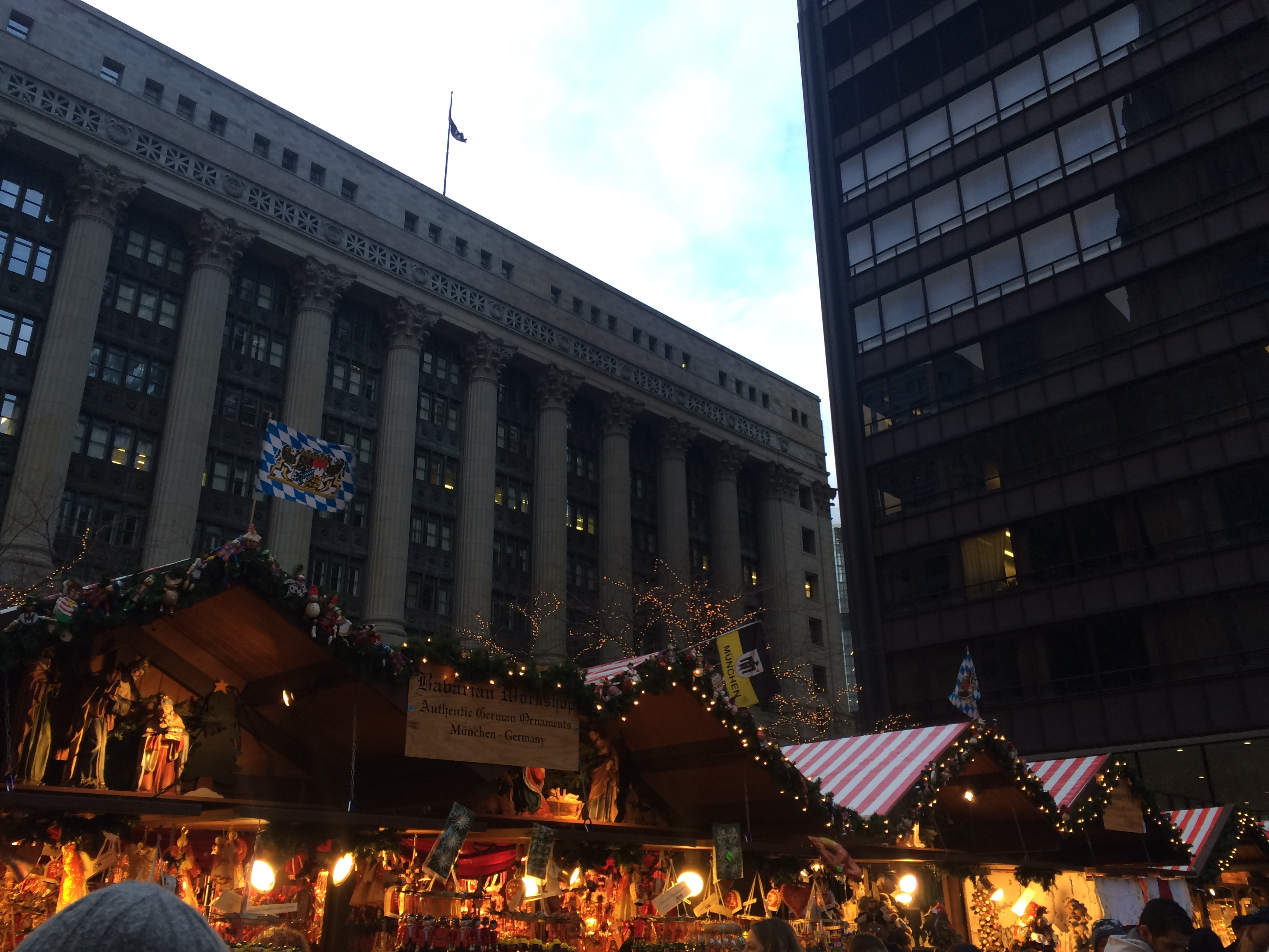 Chicagói karácsonyi vásár (Fotó: Hegyes Dóra)