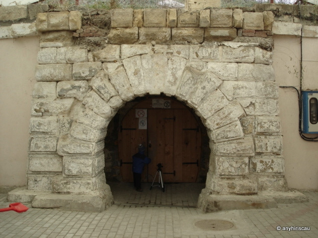 A régi bejárat (Fotó: Ananie Hirișcău)