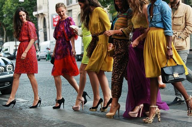 Francia nők (Fotó: fabulouslybroke.com)