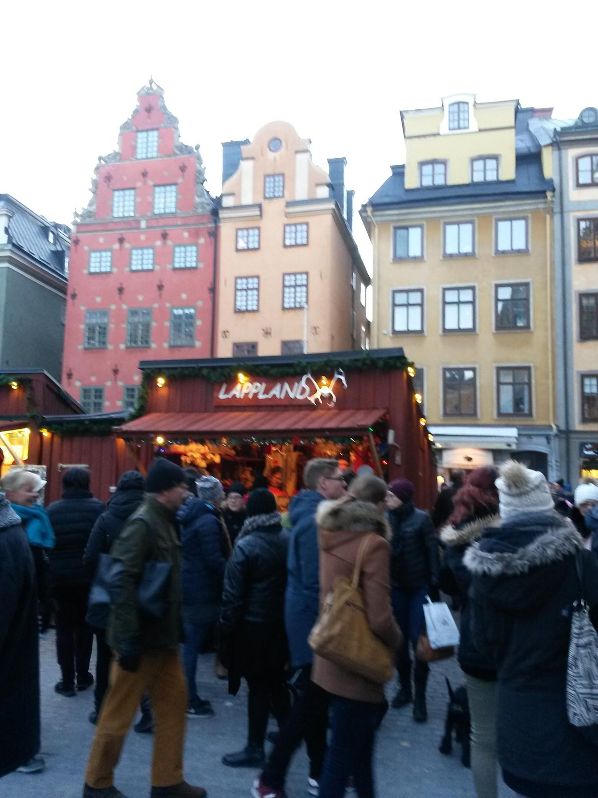 Stockholmi karácsonyi vásár (Fotó: Szabó Vivien)