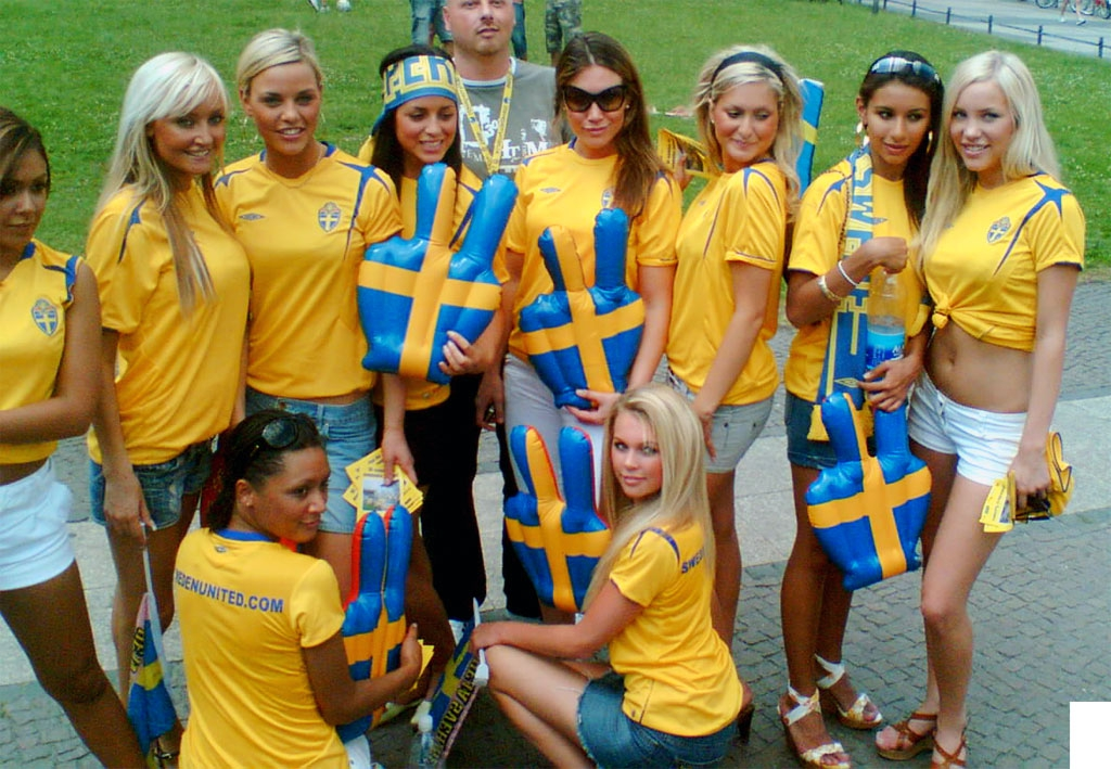 Svéd lányok (Fotó: 100percentfedup.com)