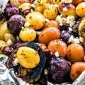 Fóliában sült görög krumpli