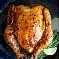 Citromos-fokhagymás sült csirke...