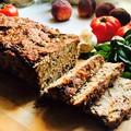 Nyári húskenyér, friss zöldségekkel felturbózva