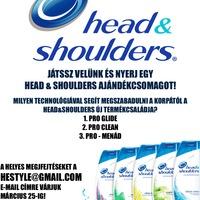 Új Head&Shoulders samponok férfiaknak!