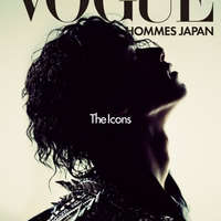 Vogue Hommes Japan címlapok