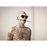 Rick Genest újabb iszonytató fotói