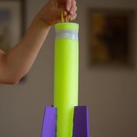 Rakétakilövő -polifoam hengerből