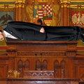 Kövér szerint nem zavaró a parlamenti plankelés