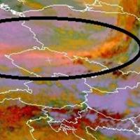 Kamufelhő érkezik Magyarország fölé