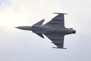 Teszteltük: JAS 39 Gripen vadászrepülő
