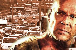 Teljes útlezárás! Bruce Willis az M7-esen forgat