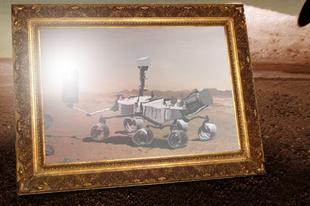 A nap képe: Önmagát kezdte el fotózni a Curiosity