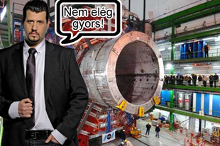 Puzsér: Szánalom, ami a CERN-ben folyik