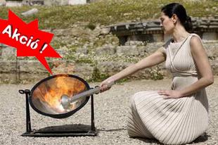100 milliárd euróért adják a görögök az olimpiai lángot