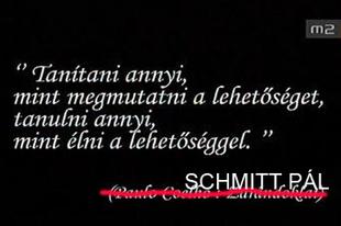 Új Coelho regénnyel tér vissza a közéletbe Schmitt Pál