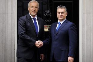 Orbán-Cameron találkozó: Lesz Avatar 2!