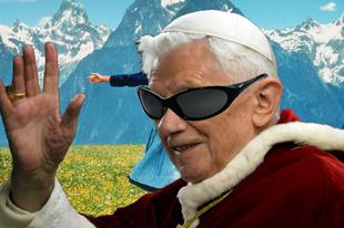 Unokáira hagyja sorszámát XVI. Benedek