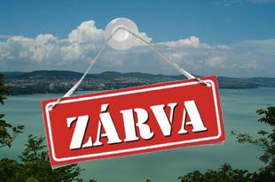 Zárva lesz a Balaton vasárnap