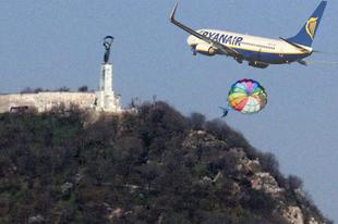 Jövő héttől csak lassít a Ryanair hazánk felett
