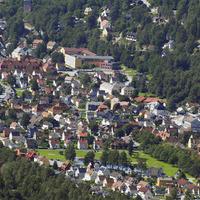 Norvég utakon - Rjukan és környéke (3) - A főtér, ahova télen-nyáron besüt a nap