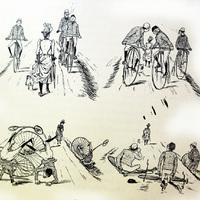 Százéves karikatúrák