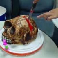 Rothadó koponya torta - te ennél ilyet?