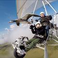 Vadlúdcsapat tagjaként repülni