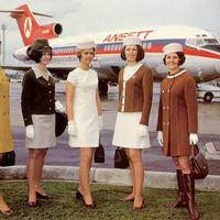 Stewardess divat  a hetvenes években