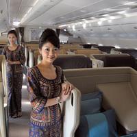 Singapore Airlines stewardess képzése