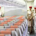Emirates stewardessek Budapesten