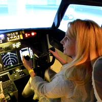 Mazsola a cockpitben