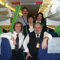 Malév pilótanő egy munkanapja