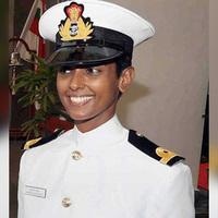 Indiai haditengerészet első pilótanője
