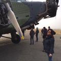 Ifjú pilótanő találkozása a Junkers Öreg Hölggyel Budaörsön