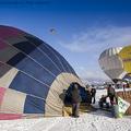 Hőlégballonnal az Alpokban