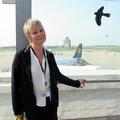 Kovács Judit, a Budapest Airport Kettes Terminál háziasszonya