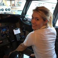 Eva, a Ryanair pilótanő